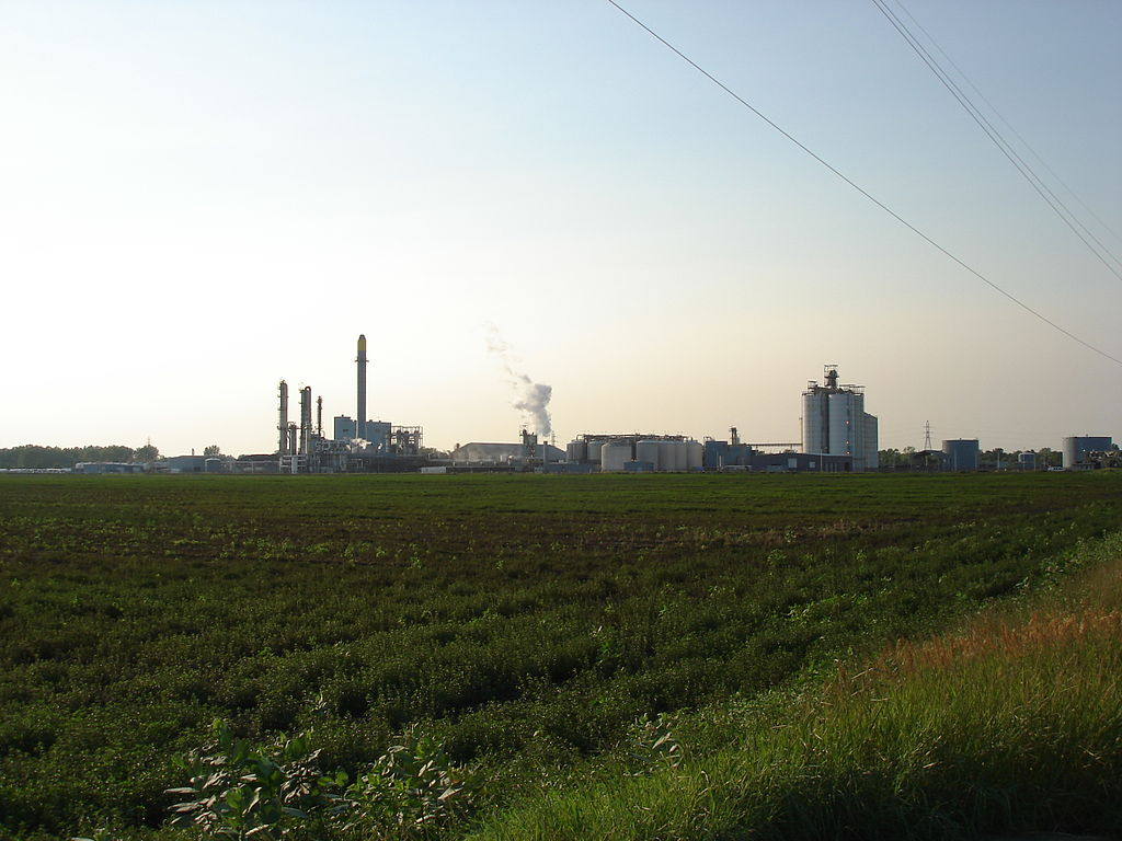 Ethanol production facility in South Bend, Indiana