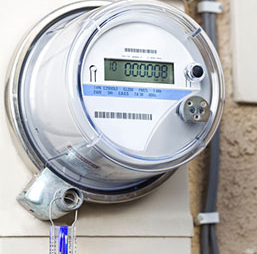 Picture of a smart meter.