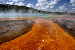 Grand Prismatic Sprinag, Yellowstone National Park, Wyoming