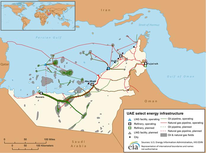 United Arab Emirates - International - Analysis - U S  Energy
