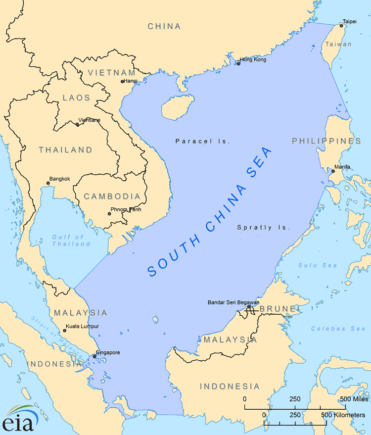 South China Sea - International - Analysis - U.S. Energy Information ...