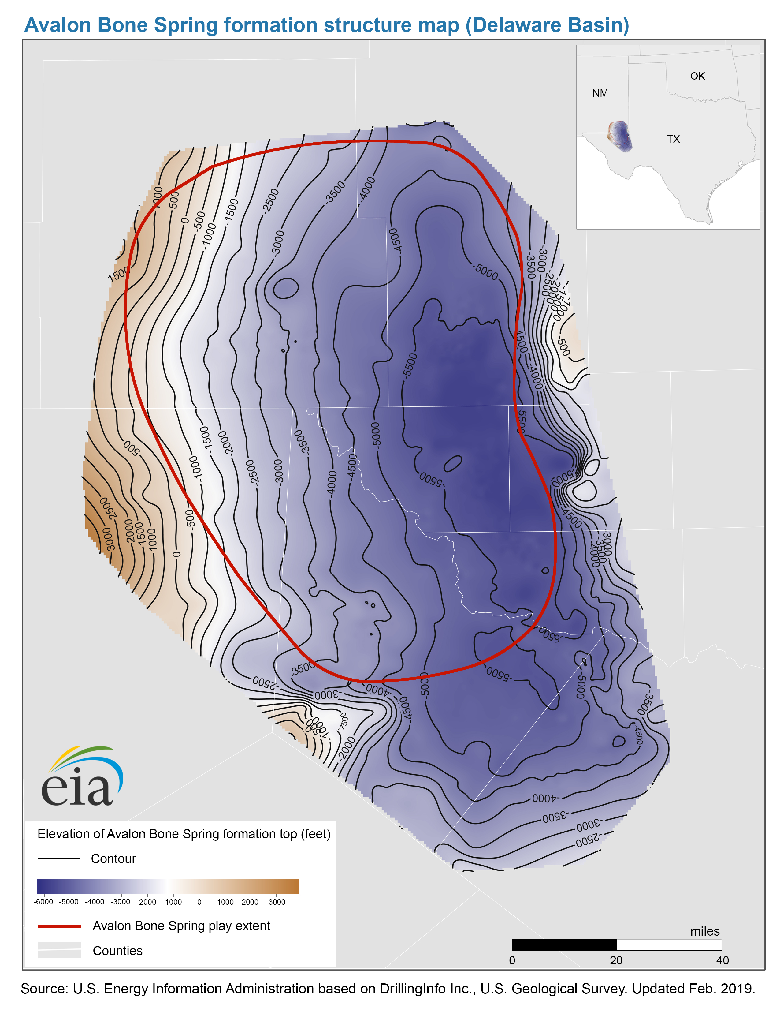 Maps: Oil and Gas Exploration, Resources, and Production
