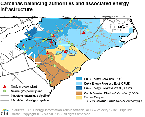 U.S. Energy Information Administration (EIA) on duke progress coverage map, duke energy pay my bill, duke power outages in nc, duke energy current outages, duke energy progress, duke energy florida outages,