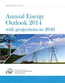 Annual Energy Outlook 2014 cover