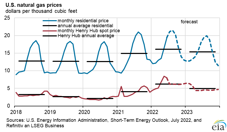 Figure 5: Natural Gas Prices