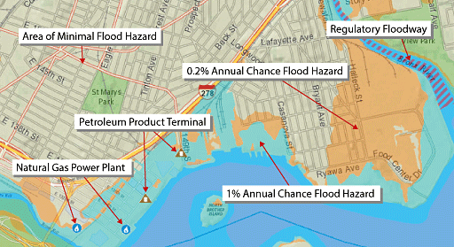 Flood Vulnerability Map