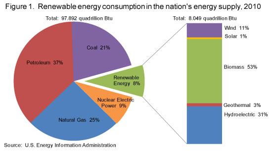 renewable energy consumption 2010