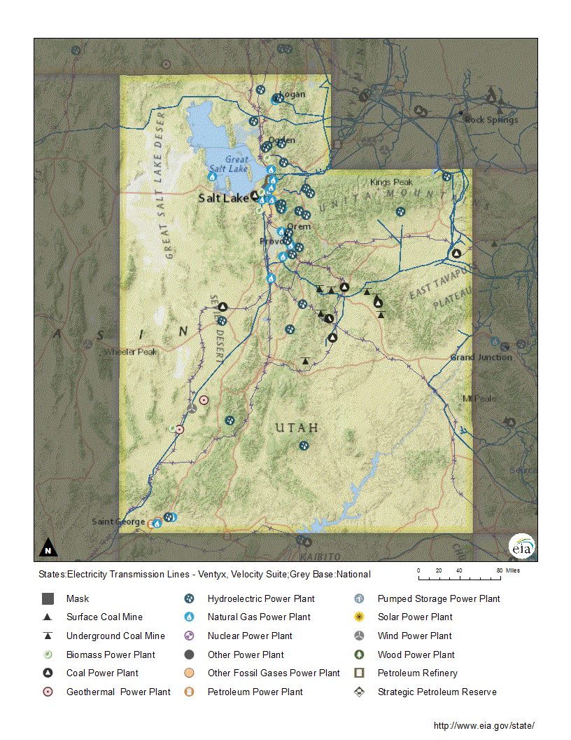 Cng Stations Utah Map.Utah Profile