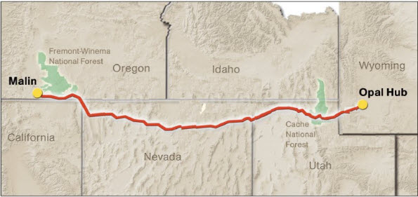Utah Gas Prices >> Ruby natural gas pipeline begins service today (July 28 ...