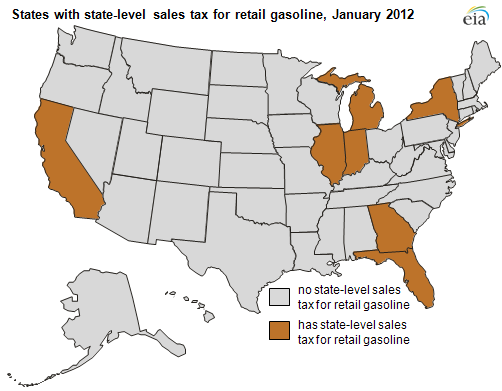 Statelevel Retail Gasoline Taxes Vary Significantly Today In