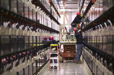 Battery Storage For Transmission Support In Alaska