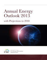 Annual Energy Outlook 2013 Early Release cover