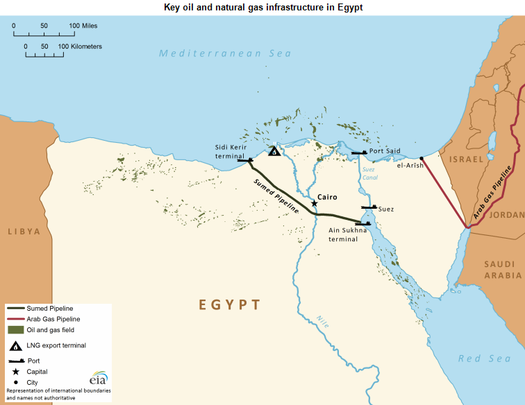 Suez canal sumed pipeline are key parts of egypts role in note click to enlarge gumiabroncs