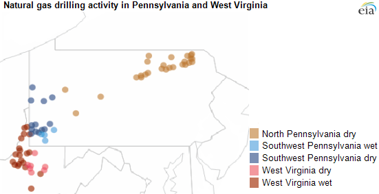 West Virginia southwest Pennsylvania form an integrated natural
