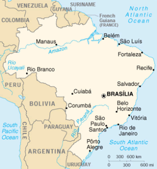 map of Brazil, as explained in the article text