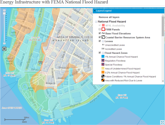 EIA Mapping Tool Shows Which US Energy Facilities Are In Areas - Flood map us