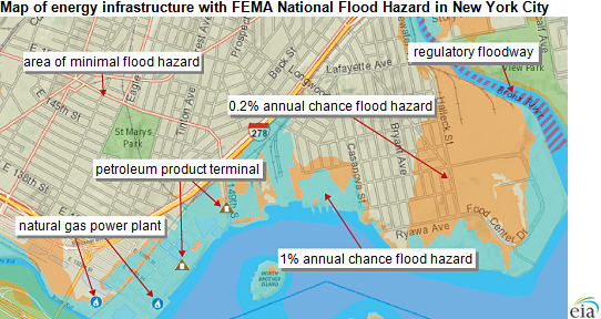 EIA Mapping Tool Shows Which US Energy Facilities Are In Areas - Map of flooding in us