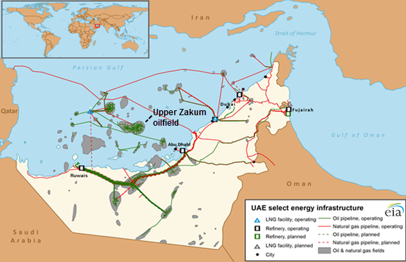 United Arab Emirates plans to increase crude oil and natural ...