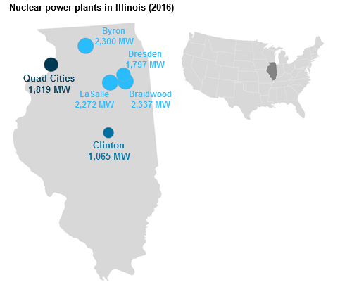 Nuclear Plants Account For More Than Half Of Electricity - Nuclear power plants in us map