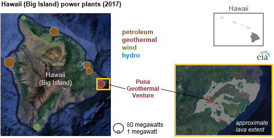 Volcanic Lava Flows Continue To Affect Geothermal Power Generation