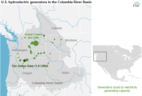 Columbia River electric generation in 2018 remains normal ...