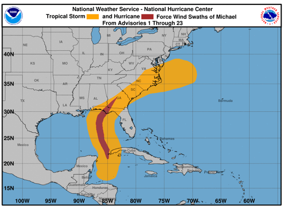 Hurricane Michael Caused 1 7 Million Electricity Outages In The